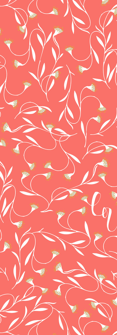 love vines { coral }