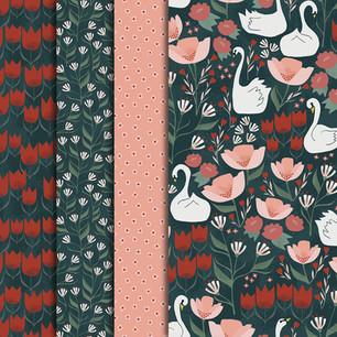 Tulip Swan Garden Collection
