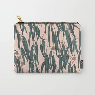 Peach Eucalyptus Carry-All
