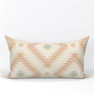 Hollis Mint Lumbar Pillow