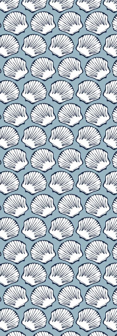 seashells { blues }