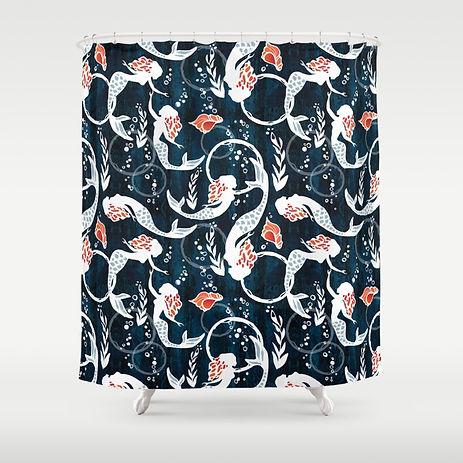 watercolor-mermaids640488-shower-curtain