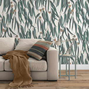 Ellewood Eucalyptus Wallpaper