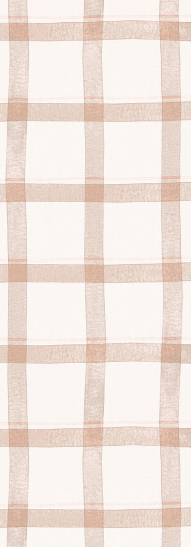Watercolor Plaid {peach}