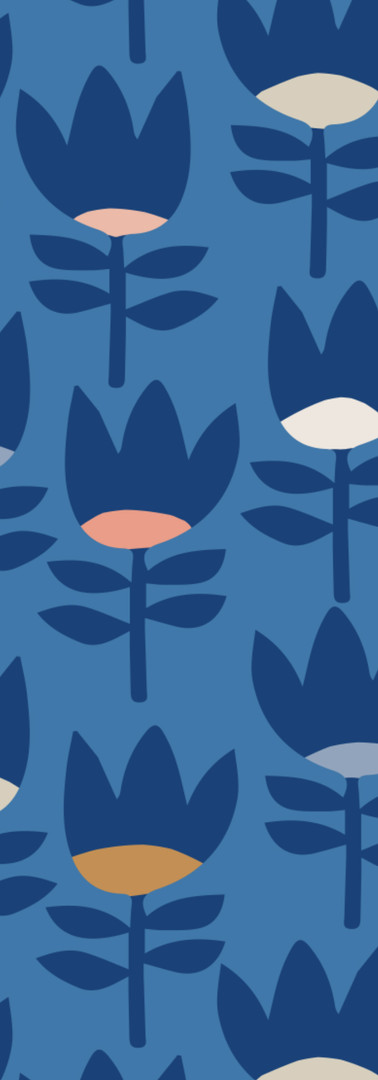 Blue Garden Dusk