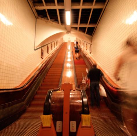 Ondergronds van Linkeroever naar 't Stad