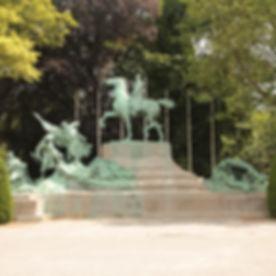 Het stadspark een levend monument