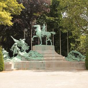 Het stadspark: een levend monument