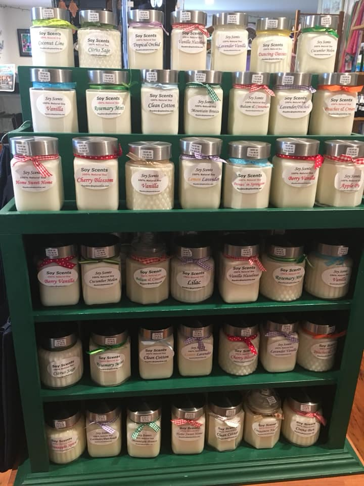 Floyd Scholz - 100% Natural Soy Candles.