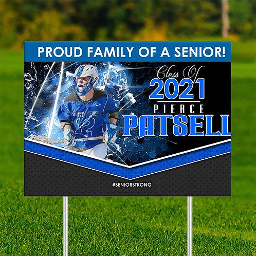 Proud Senior Yard Sign F