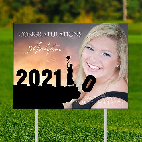 Proud Senior Yard Sign D