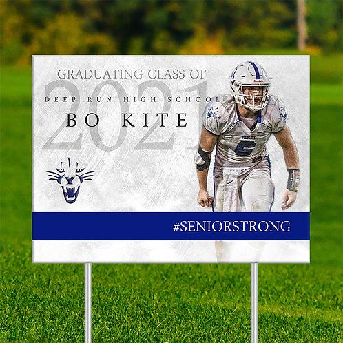 Proud Senior Yard Sign E