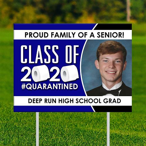 Proud Senior Yard Sign