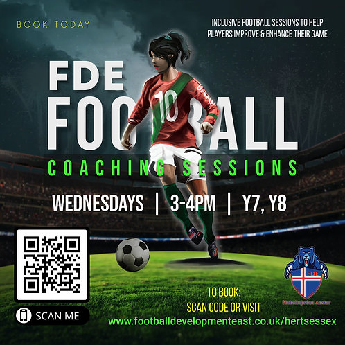 Football Sessions (Herts & Essex)