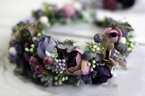 венок из цветов
