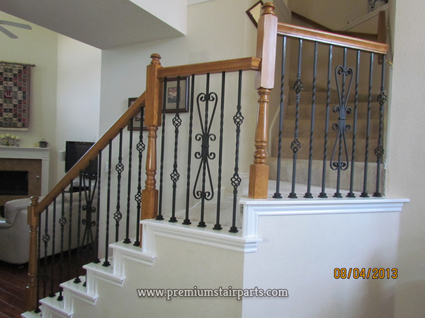 Iron spindles