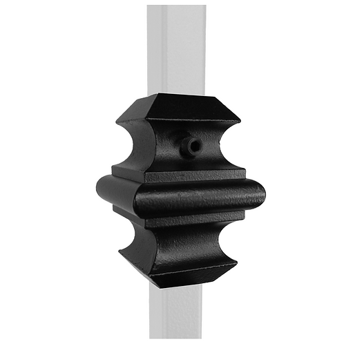 Adjustable Knuckle for 1/2'' sq Iron Balusters