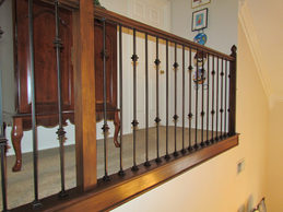 Plain & double knuckle iron balusters