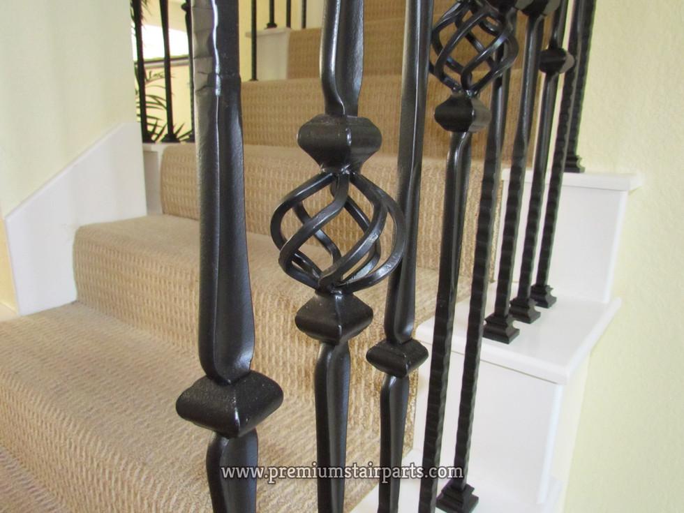 Iron stair accessories