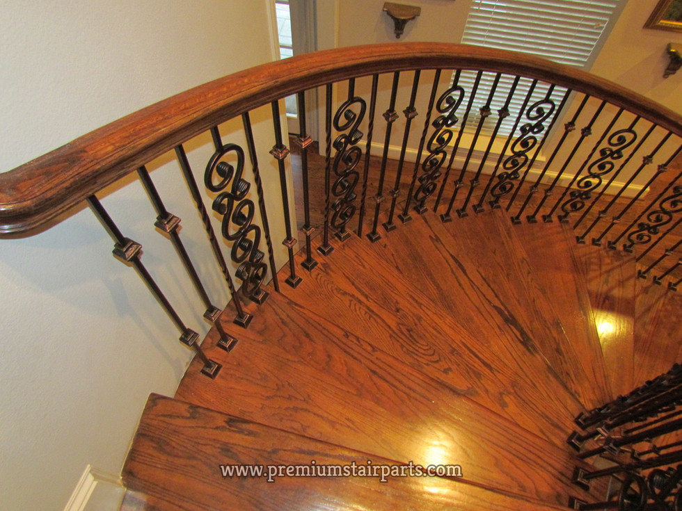 Iron balusters pattern example