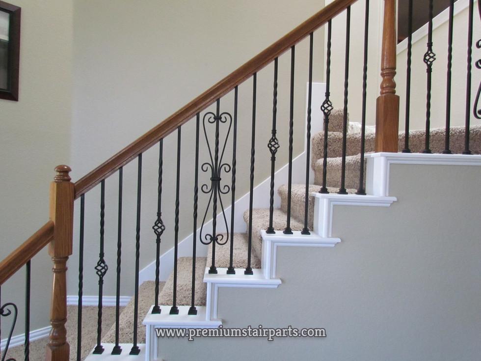 Cheap iron stair parts
