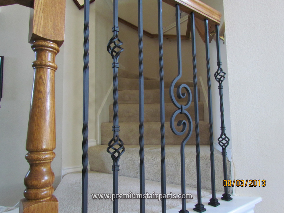 Iron parts for staircase