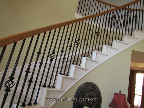Iron stair materials