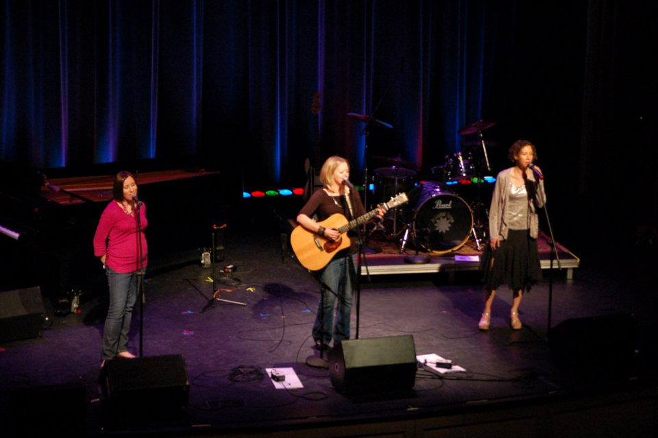 women who rock concert at Kimble