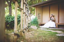 Bride @Japanese Friendship Garden