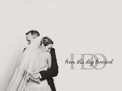 Wedding embrace - Desert Botanical