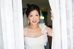 Bride at Valley Ho