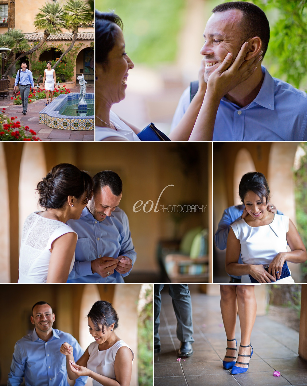 Royal Palms Resort Anniversary Photography