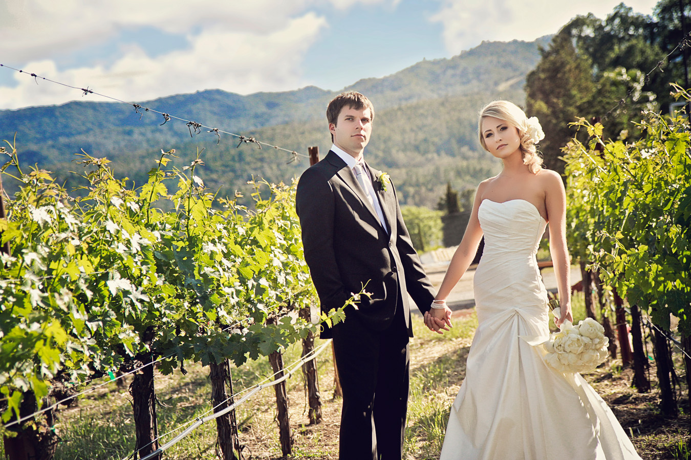 V. Sattui Winery Wedding