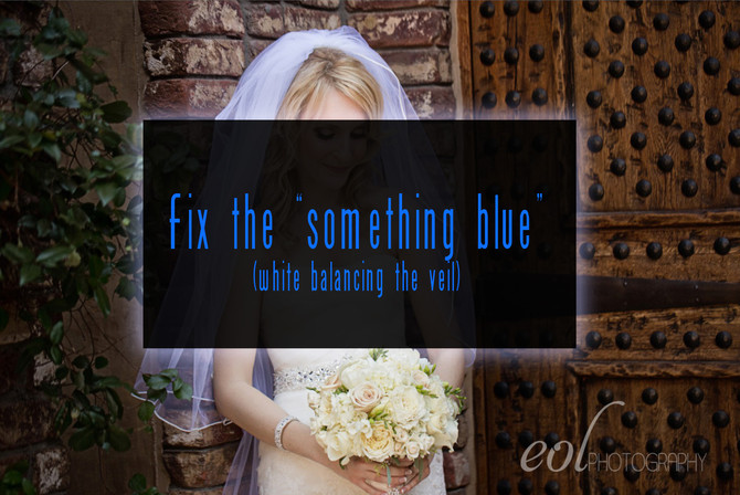 The Veil Blues - How to Fix the veil in Photoshop