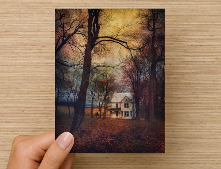 House in the Woods Notecard (Pack of 5)