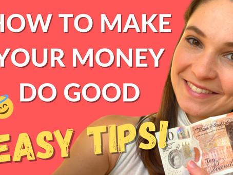 How to make your money do good