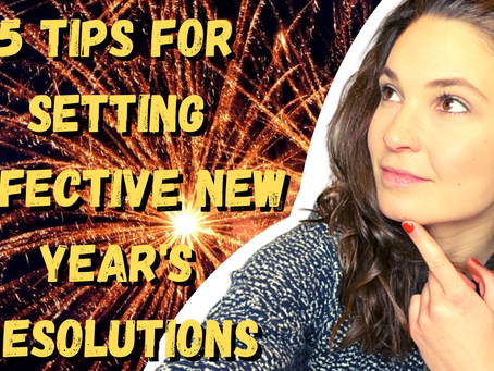 5 tips for setting effective New Year's resolutions