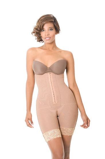 8026 - STRAPLESS BODY SHAPER WITH SILICONE