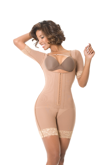 7020 - BODY SHAPER WITH SLEEVES
