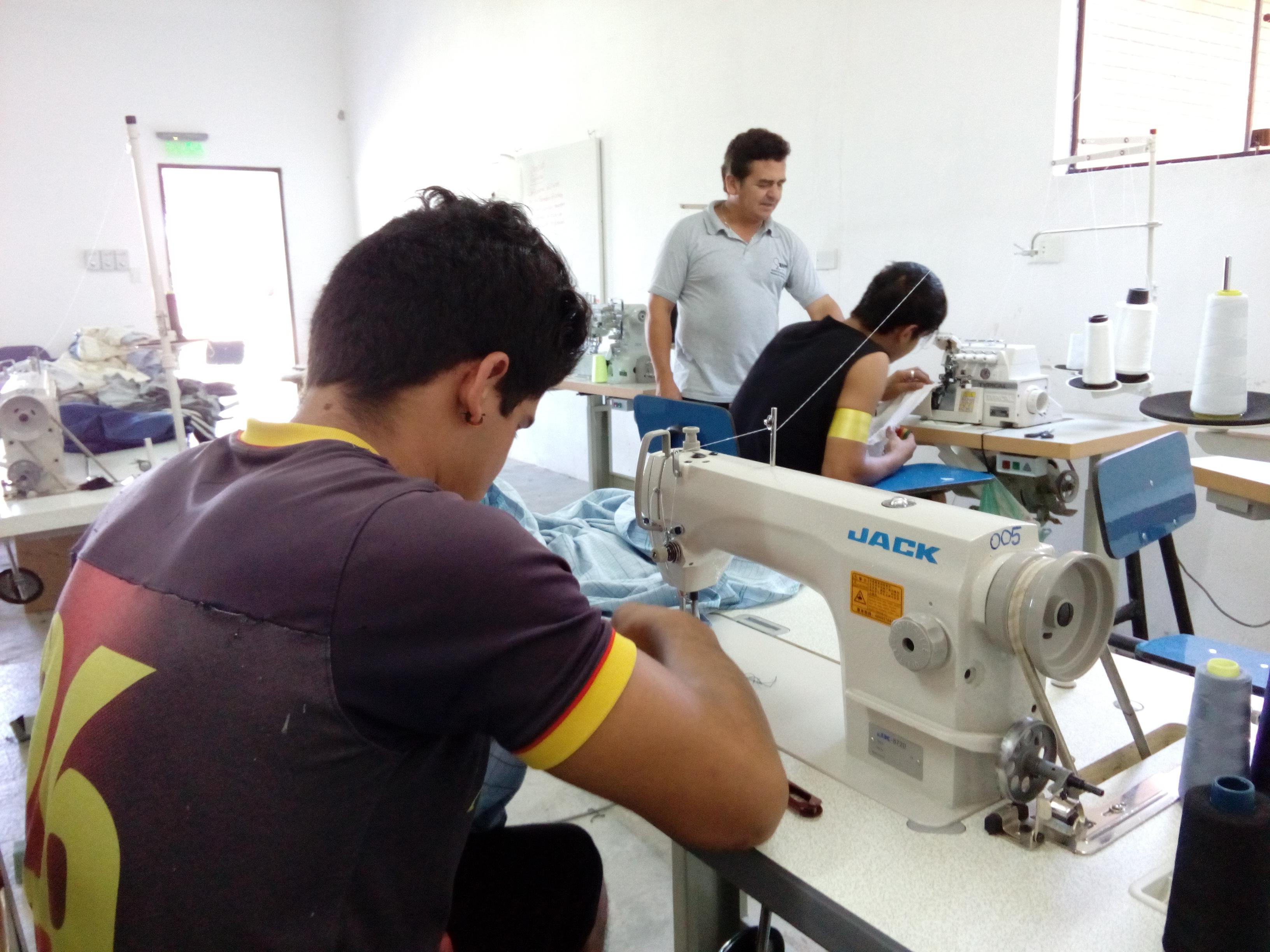 Confección textil CMT 2