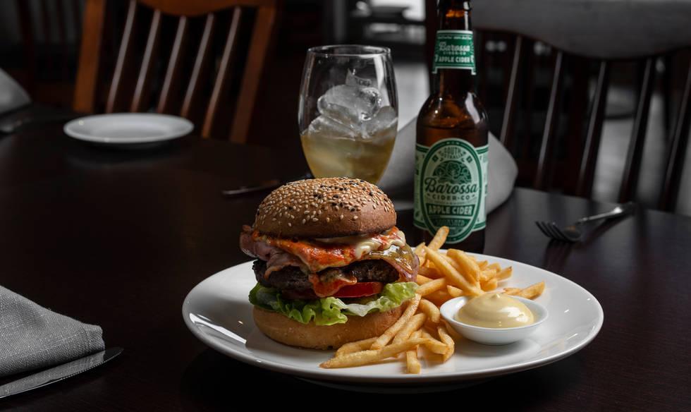 Wagyu Beef Char Burger