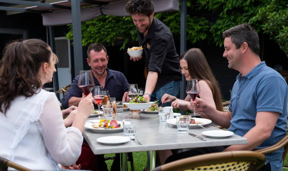Char Barossa Outdoor Dining