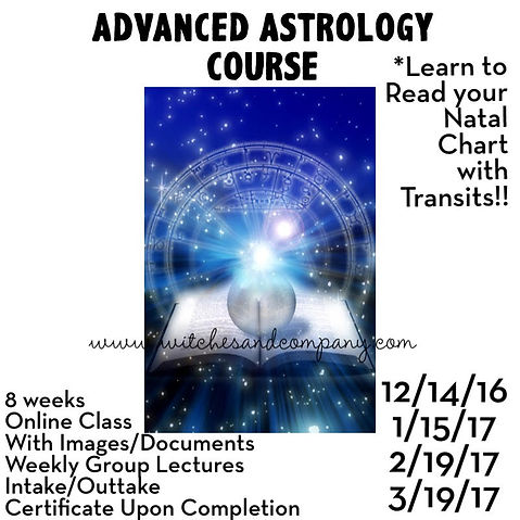 Astrology Course Dates