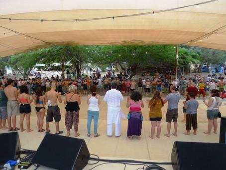 Laughter Yoga Workshop in Zorba Festival in Israel