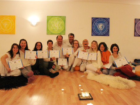 Beautiful Laughter Yoga Leader Training in Frankfurt Oct 2016