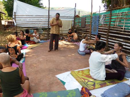 "Kundalini Yoga Workshop ""SATPREM"" in Kudle Beach, Gokarna, India."