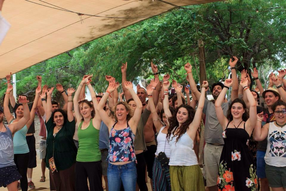 Laughter Yoga in Zorba Festival