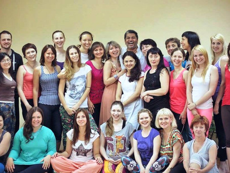 Laughter Yoga Workshop in Tula, Russia