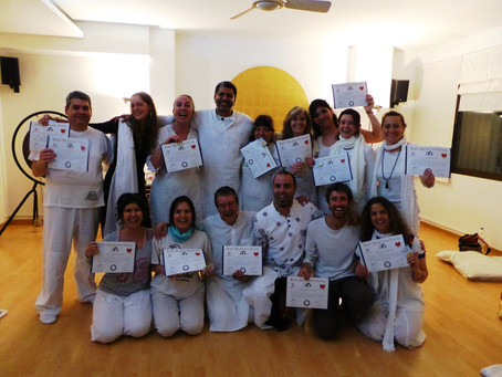 First Laughter Yoga Leader Training in Barcelona