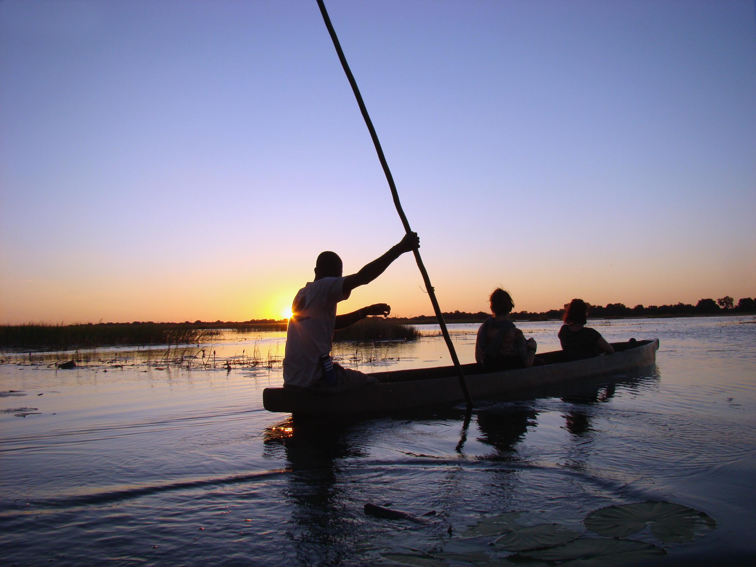 Botswana Mekoro trip